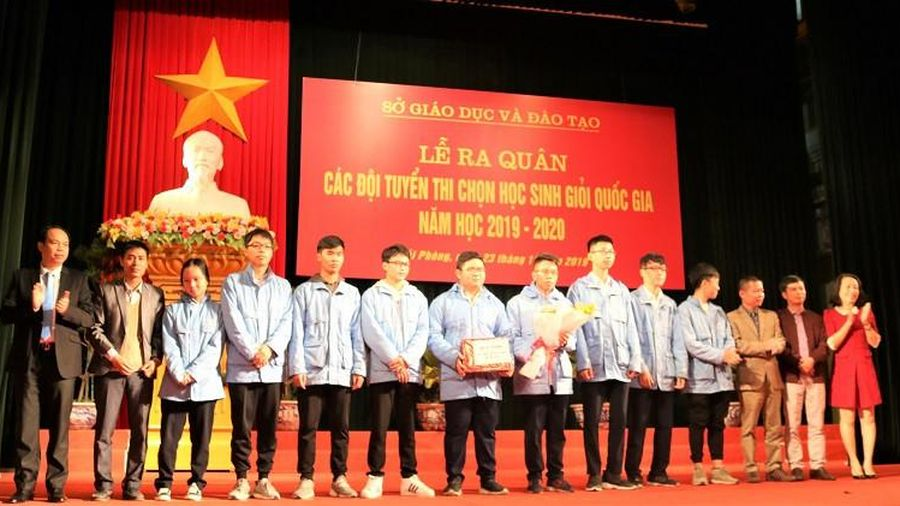 Hải Phòng giành 7 giải Nhất kỳ thi chọn HSG quốc gia