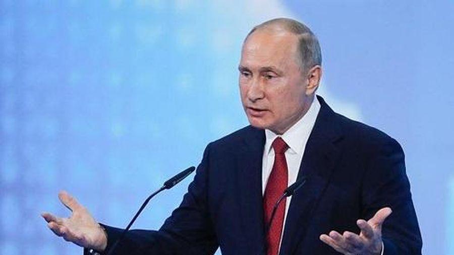 Tổng thống Nga Vladimir Putin đọc Thông điệp liên bang năm 2020