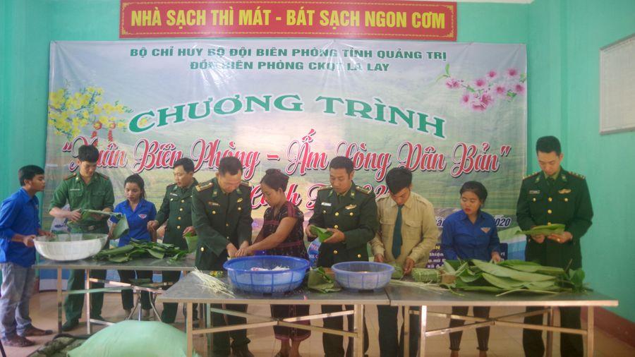 'Xuân Biên phòng ấm lòng dân bản' tại Quảng Trị - Gắn kết yêu thương đồng bào các dân tộc nơi biên giới