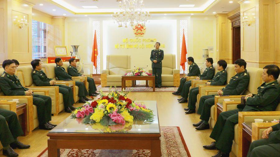 Gặp mặt học viên hoàn thành khóa đào tạo chỉ huy, tham mưu cao cấp tại Học viện Quốc phòng