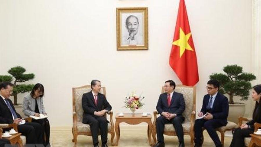 Phó Thủ tướng Vương Đình Huệ tiếp Đại sứ Trung Quốc, Chủ tịch Tập đoàn ASG