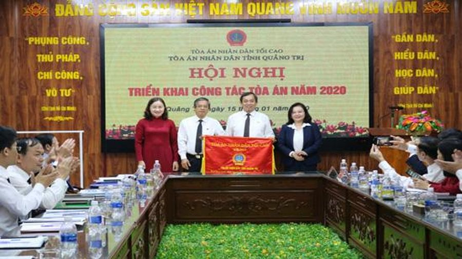 TAND tỉnh Quảng Trị triển khai công tác năm 2020