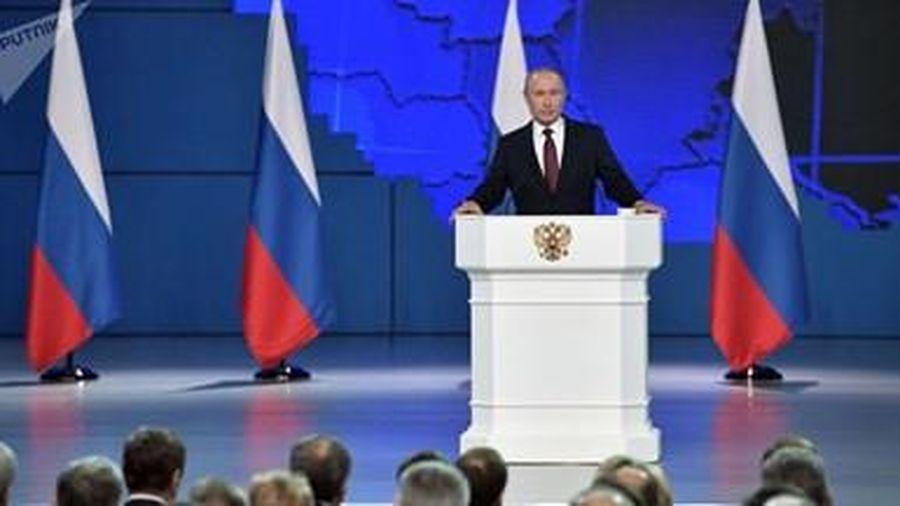 Putin kêu gọi sửa Hiến pháp Nga