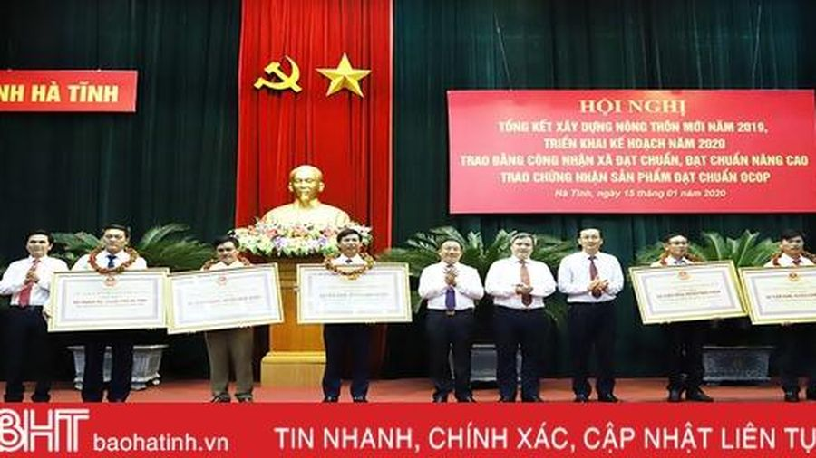 Bí thư Tỉnh ủy Hà Tĩnh: Xây dựng NTM là nhiệm vụ chính trị trọng tâm, lâu dài, là trách nhiệm của toàn xã hội
