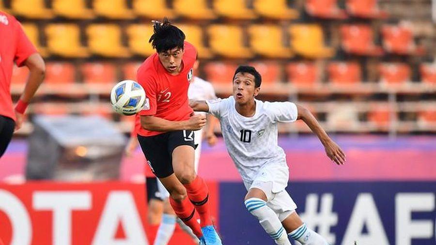Hàn Quốc toàn thắng, nuôi thêm hy vọng cho U23 Việt Nam