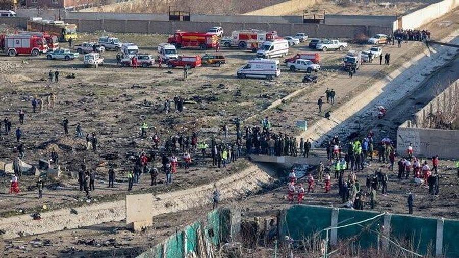 Ukraine yêu cầu Iran trả lại hộp đen của máy bay bị rơi