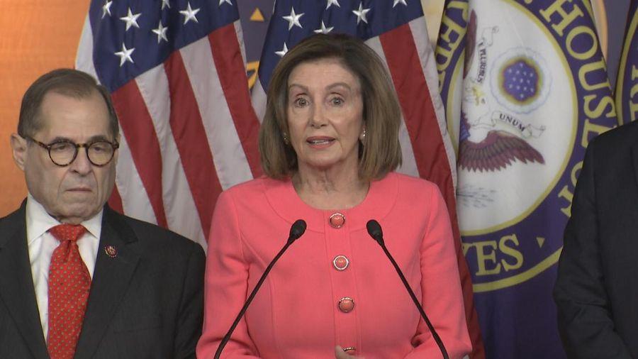 Chủ tịch Hạ viện Mỹ chỉ định nhóm chuyên trách dự phiên xét xử luận tội Tổng thống Trump