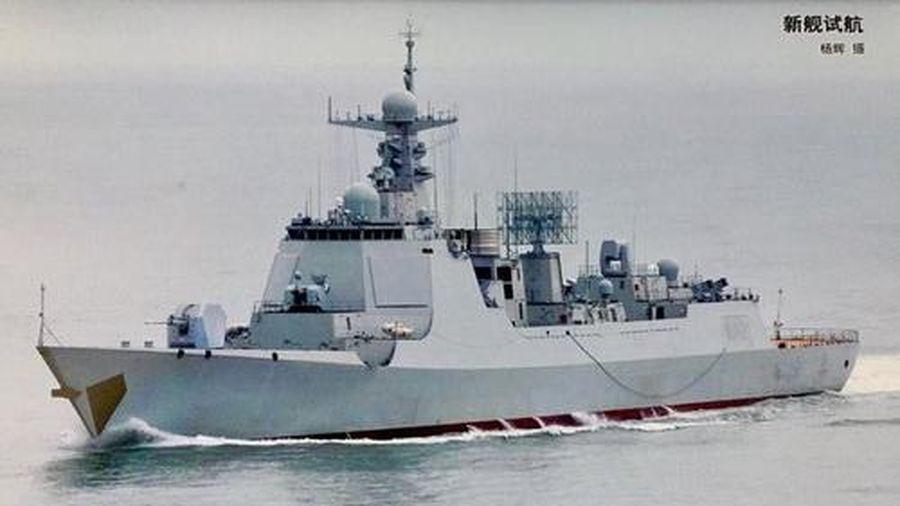 Trung Quốc biên chế khu trục hạm Type 052D nâng cấp đầu tiên