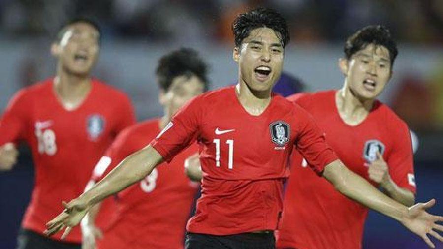 CLIP: Gục ngã trước U23 Hàn Quốc, U23 Uzbekistan vẫn may mắn đi tiếp