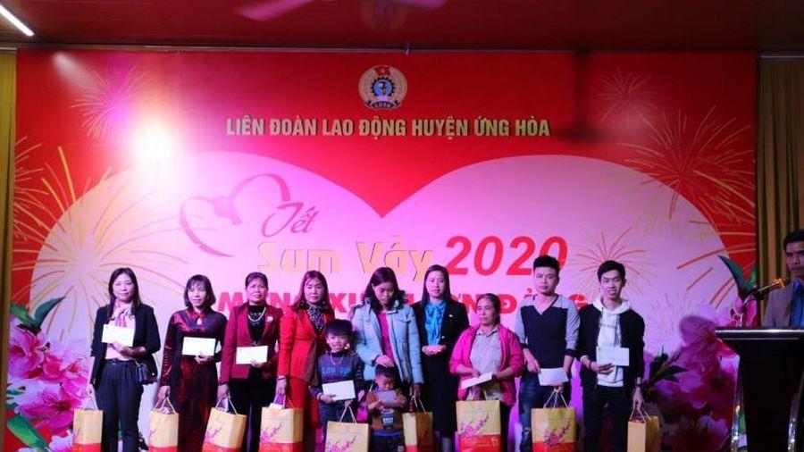 'Tết Sum vầy' ấm áp đến với đoàn viên công đoàn huyện Ứng Hòa