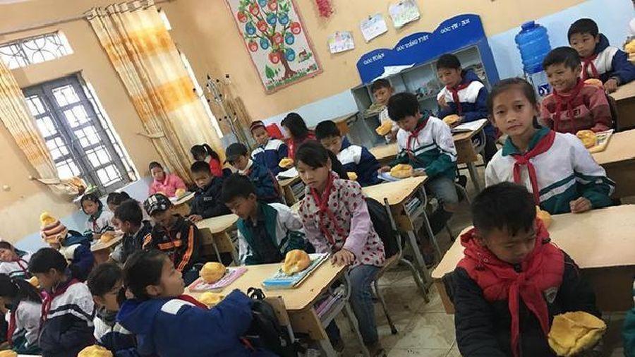 Học sinh ôm bụng đói đi học, cô giáo quyết tâm làm một điều khiến ai cũng cảm động
