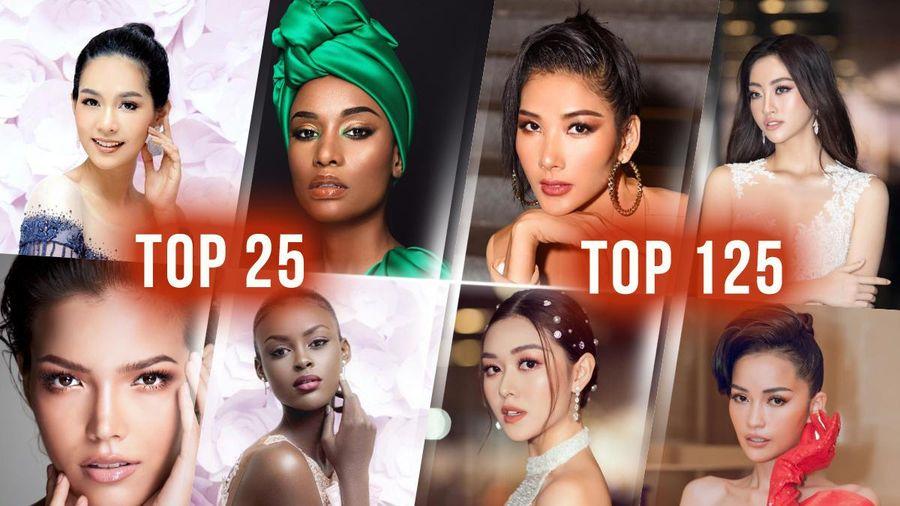 Hoàng Thùy - Lương Thùy Linh - Tường San - Ngọc Châu đồng loạt trượt Top 25 Timeless Beauty 2019