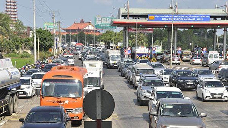 Giải tỏa ùn tắc tại các trạm thu phí dịp Tết