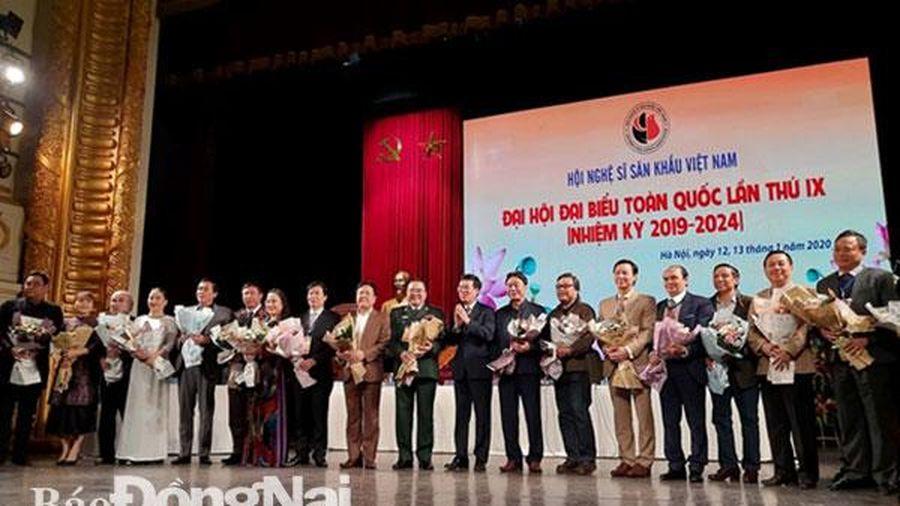 NSND Giang Mạnh Hà trúng cử Phó chủ tịch Hội Nghệ sĩ sân khấu Việt Nam