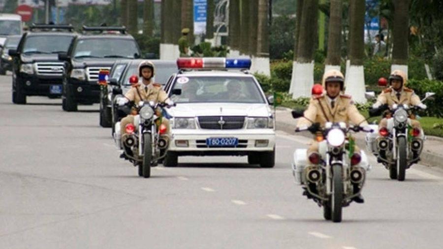Phân luồng một số tuyến phố phục vụ lễ tang 3 công an hy sinh tại Đồng Tâm