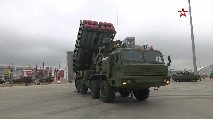 Cận cảnh hệ thống phòng thủ tên lửa đất đối không S-350E 'cực mạnh'