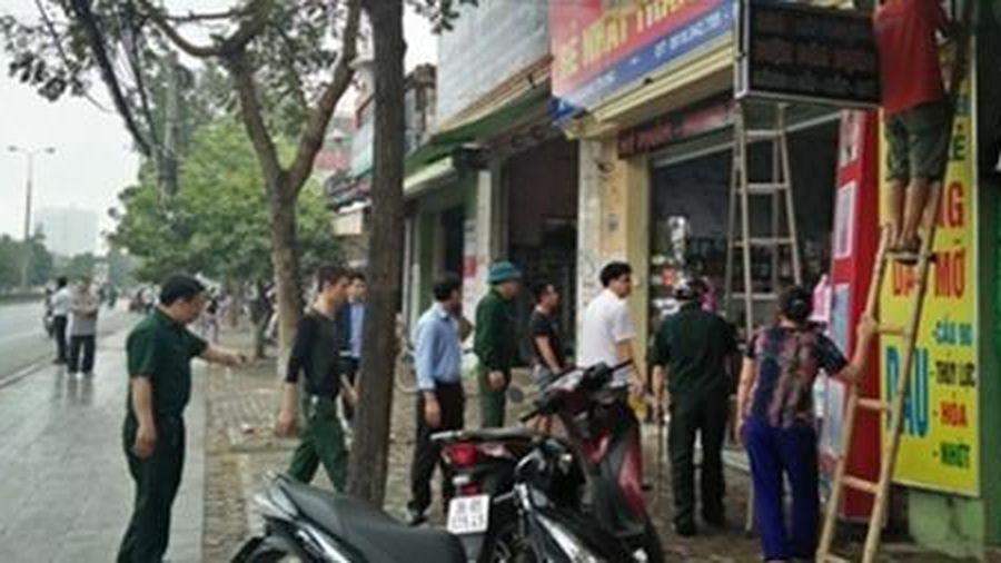 Hà Nội xử lý hơn 274 nghìn trường hợp vi phạm về trật tự đô thị