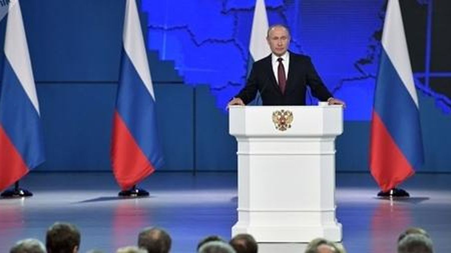 Putin kêu gọi sửa loạt điều khoản về vị trí Tổng thống trong Hiến pháp Nga