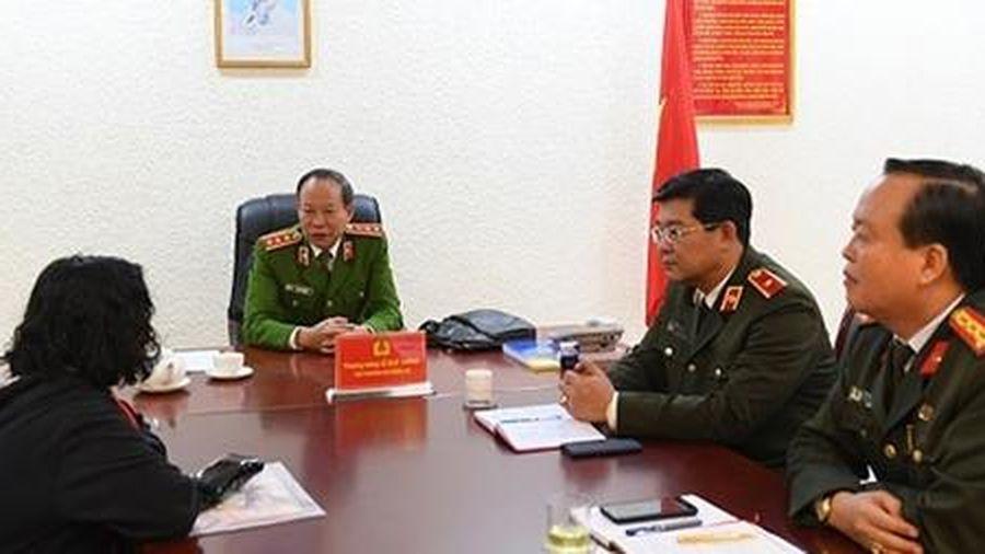 Thứ trưởng Lê Quý Vương tiếp công dân định kỳ tháng 1-2020