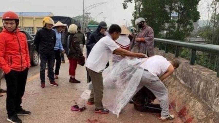 Tiến hành lấy lời khai đối tượng chém phụ nữ trên cầu ở Thái Nguyên