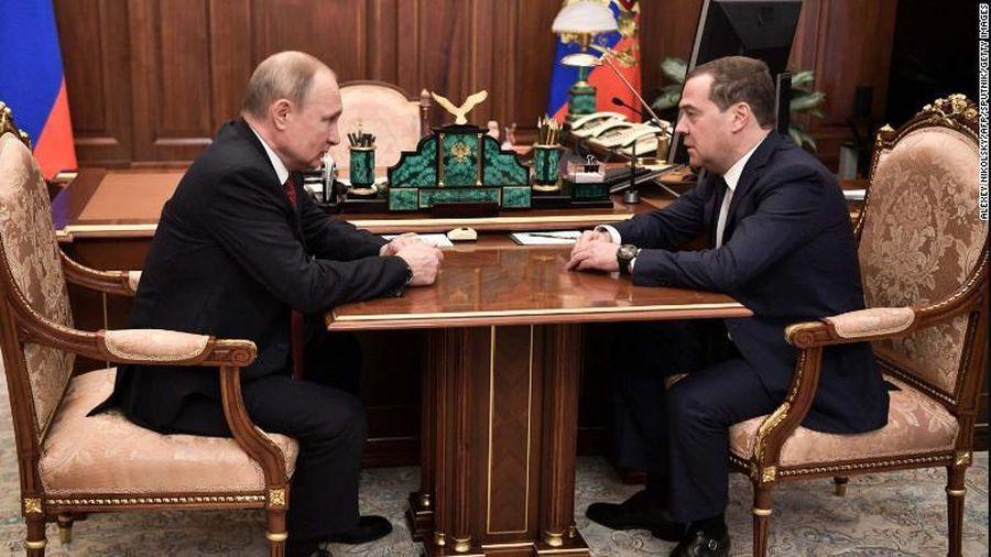 Thủ tướng Nga tuyên bố toàn bộ chính phủ Nga sẽ từ chức