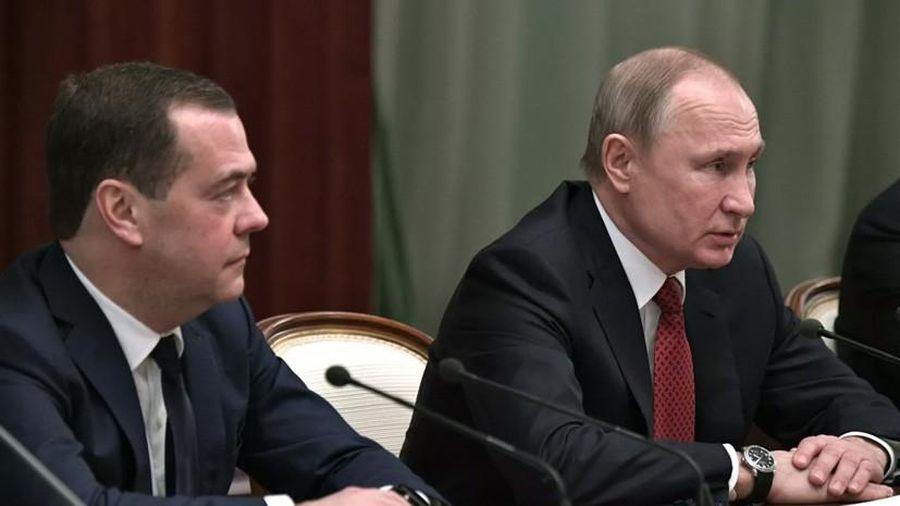 Chính phủ Nga tuyên bố giải thể để mở đường cho sửa đổi hiến pháp