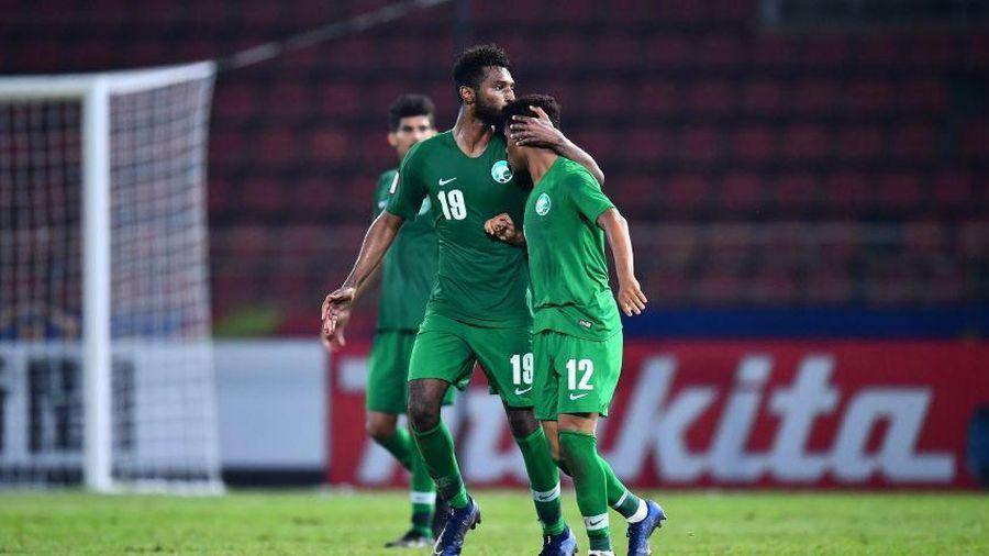 U23 Saudi Arabia đối đầu U23 Thái Lan ở tứ kết U23 châu Á 2020