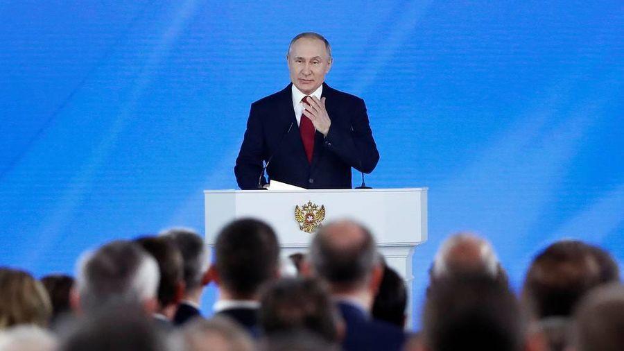 Tổng thống Putin lý giải việc lần đầu tiên đọc Thông điệp Liên bang ngay đầu năm