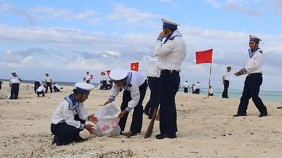 Tuổi trẻ đảo Nam Yết với phong trào bảo vệ môi trường biển