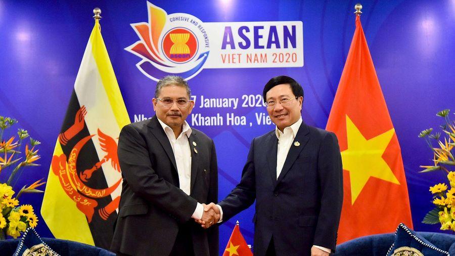 Brunei cam kết ủng hộ Việt Nam đảm nhiệm thành công vai trò Chủ tịch ASEAN