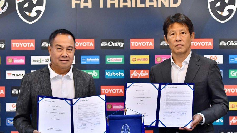 Akira Nishino quyết đưa Thái Lan vượt tuyển Việt Nam