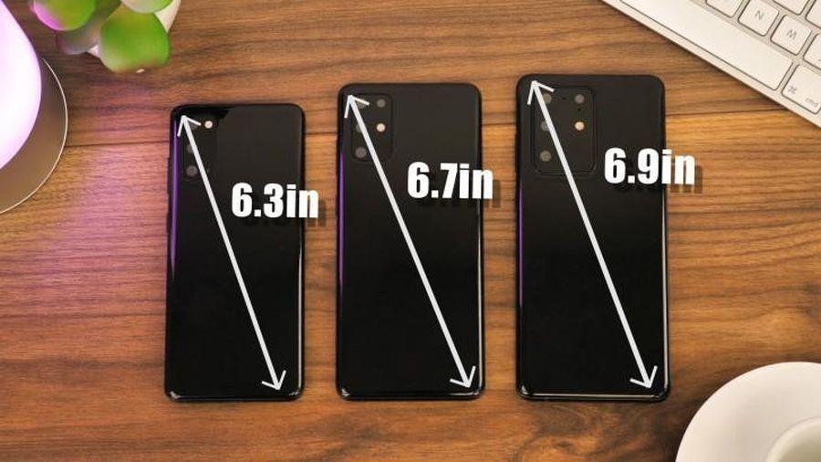 Video trên tay bộ ba Galaxy 20, S20+ và S20 Ultra sắp ra mắt