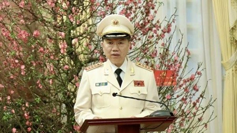 Bộ trưởng Bộ Công an gửi lời chúc mừng năm mới
