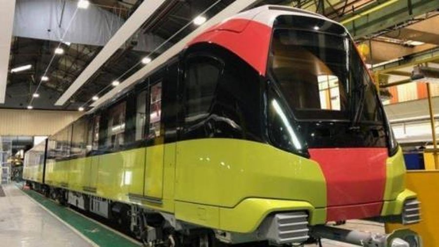 Thử nghiệm đoàn tàu dự án đường sắt Nhổn - ga Hà Nội từ tháng 9/2020