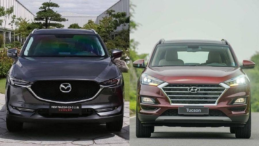 Hyundai Tucson và Mazda CX-5, chọn mua xe nào?