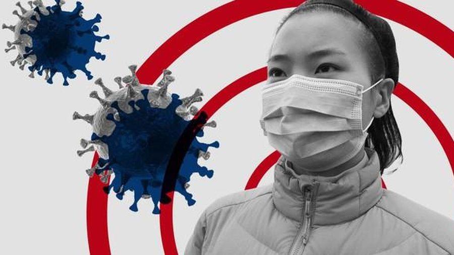 Virus corona có thể 'bay' tới 2m để xâm nhập vào cơ thể