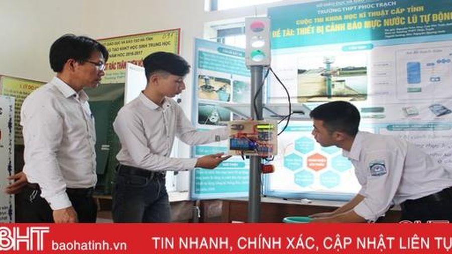 Trường vùng cao Hà Tĩnh sở hữu 22 sản phẩm sáng tạo khoa học kỹ thuật cấp tỉnh