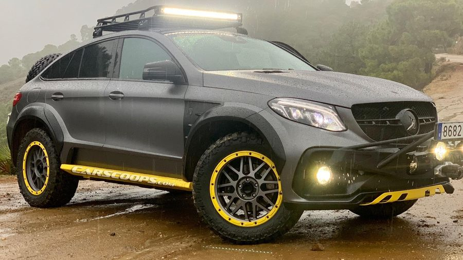 Khám phá chiếc Mercedes GLE Safari 'độc nhất'