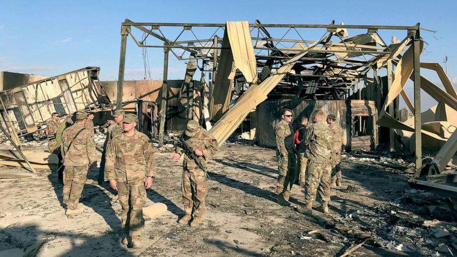 50 binh sĩ Mỹ chấn động não sau vụ bắn tên lửa của Iran