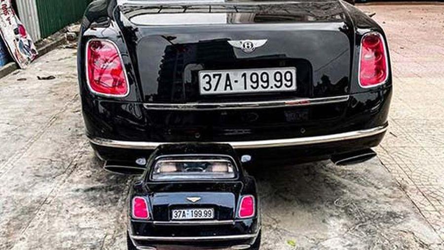 Xe siêu sang Bentley Mulsanne biển 'tứ quý 9' ở Nghệ An