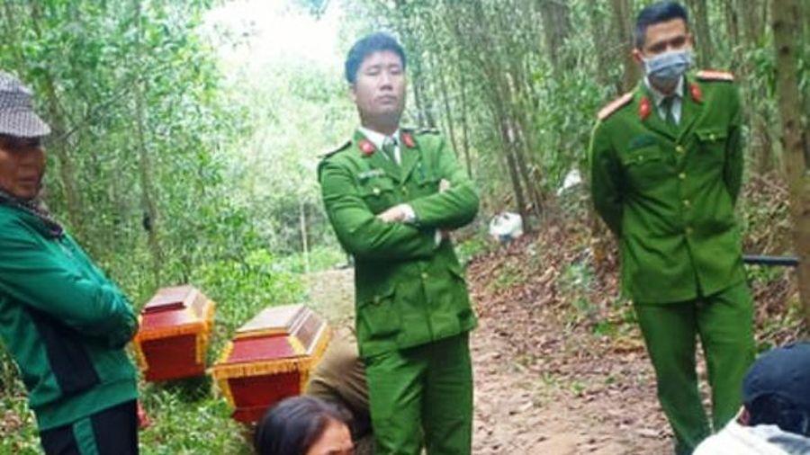 Phát hiện 2 thanh niên tử vong bên bìa rừng ở Nghệ An