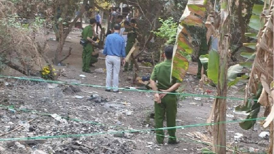 Cận cảnh hiện trường vụ nổ súng khiến 4 người tử vong ở TP.HCM