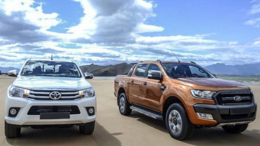 Xếp hạng phân khúc xe bán tải ăn khách nhất năm 2019