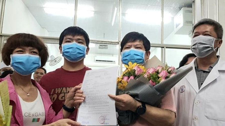 2 cha con người Trung Quốc nhiễm Covid-19 gửi tâm thư cảm ơn y bác sĩ Bệnh viện Chợ Rẫy TP.HCM