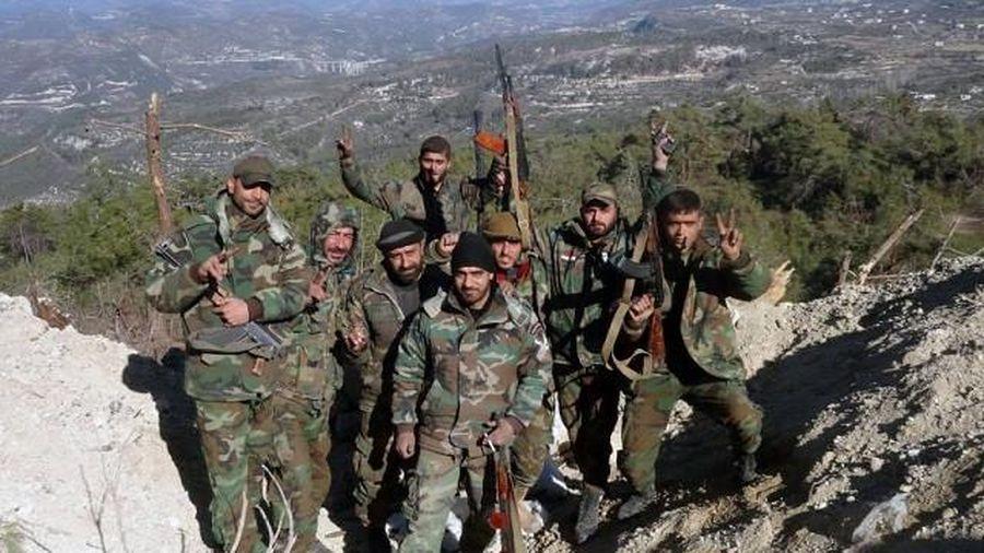 Quân đội Syria chiếm toàn bộ dãy núi Shashabo ở nam Idlib