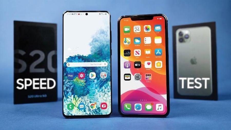 Liệu Samsung Galaxy S20 Ultra có đánh bại được iPhone 11 Pro?