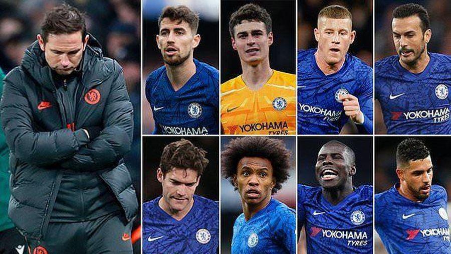 Frank Lampard tính 'trảm' 8 cầu thủ Chelsea ở kỳ chuyển nhượng Hè