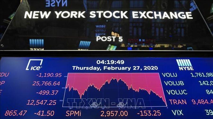 Chứng khoán châu Âu và châu Á rực sắc đỏ, giá dầu tiếp tục giảm