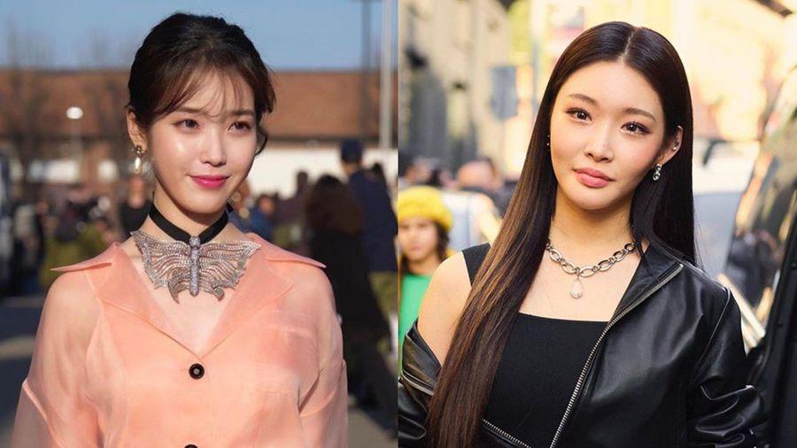 Sau Chungha, đến lượt IU bị Knet gọi tên trước tin đồn một nữ ca sĩ Hàn Quốc nghi nhiễm CoviD-19