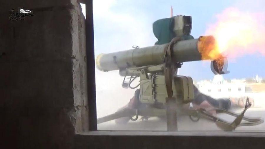 Xe tăng quân đội Syria sẽ bốc cháy hàng loạt vì sai lầm chết người của họ